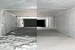 Dirty Air Duct/Clean Air Duct
